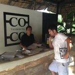 Coco Tulum Front Desk