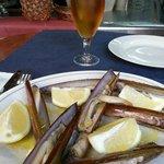 Razor clams @ La Boqueria