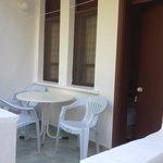 Odaların balkonu