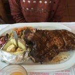 very good grilled ribeye