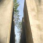 installazione architettonica in memoria degli ebrei vittime in europa