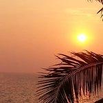 Sunset over the Arabian Sea