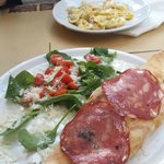 Calzone and Tortellini