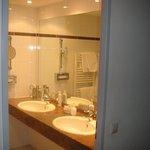 Teilbereich des Badezimmers