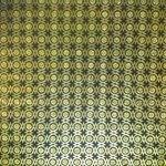 il soffitto dorato in una delle stanze