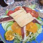salade de foie gras