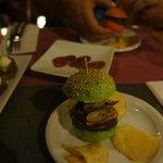 Mmmhhh! Hamburger tapa à l'Espagnol