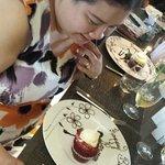 Special birthday dessert