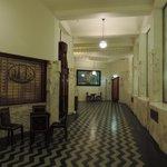 les couloirs des étages
