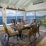 Dining Room with 180 degree view