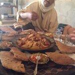 lunch at Chez les habitants