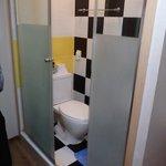 les toilettes-douche