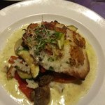 Risotto Crusted Catch of the Day