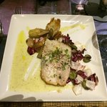 Grilled Opah with Basil Pesto