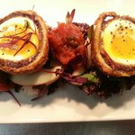 Stornoway black pudding scotch egg