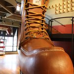 World's Largest Boot.