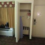 Closet en la habitacion