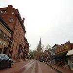 calle principal del centro histórico
