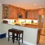 Kitchen in Condo 61B