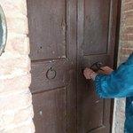 locking our door