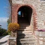 stairs to apartment Chiara