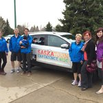 Debbie and her crew from Tourism Saskatoon. Thanks for stopping by.