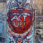 Berlin Wall!  Stark difference between the east and west side is interesting