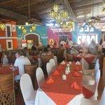 """Buffet area of """"Mi Pueblito"""" restaurant"""