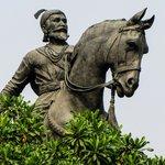 Statue of Shiva Maharajah at Gateway of India