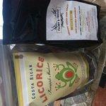 coffee and CR licorice