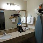 Bathroom Vanity, Toiletries Included
