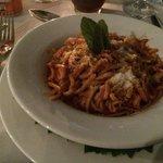 Spicy pasta - main course