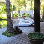 Resort bottom pool