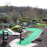 Part of mini golf course