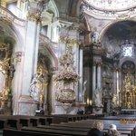 interior da Igreja de São Nicolau