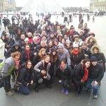 Grupo en Paris
