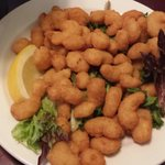 "Kids menu ""Popcorn Shrimp"""