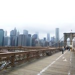 The view from Brooklyn Bridge