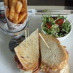 Afternoon snack - Langham Place Club Sandwich