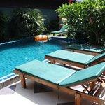 swimming pool.... 20m