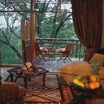 Tsala Treetop Lodge Suite Private Deck