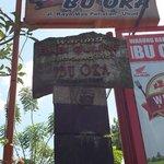 The entrance of Ibu Oka