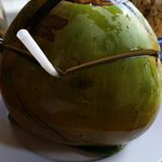 Ordered a coconut without ice