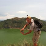Traveling to taal volcano