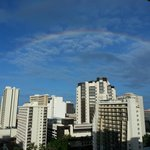 View of rainbow from my lanai