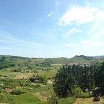 Udsigten fra panorama terrassen