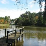 The lake by picnic areas