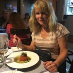 The most flavorful and savory, creatively prepared ravioli and stuffed tomato dish I have ever h
