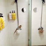 Shower -a bit tiny-