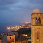Vistas desde la terraza del Bar Turrisi (Castelmola)